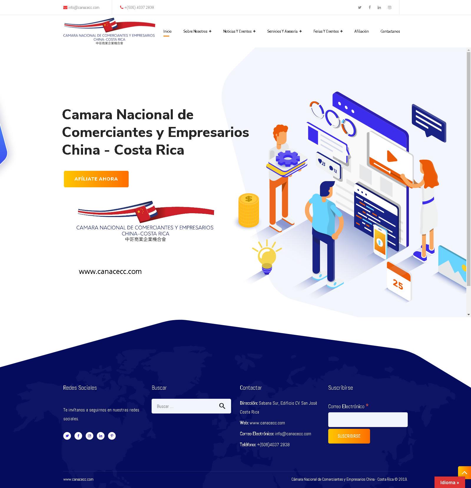 Cámara Nacional de Comerciantes y Empresarios China - Costa Rica